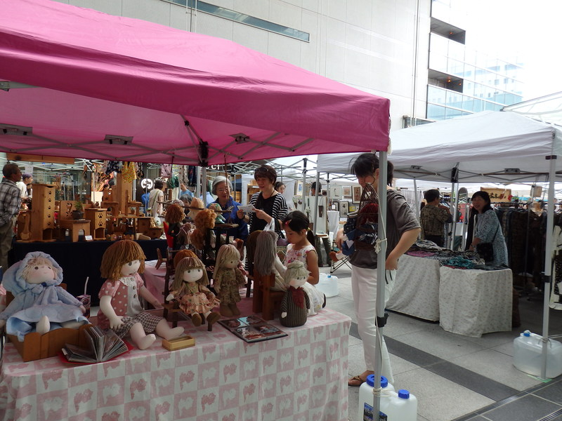 &nbspHamamatsu: feira de artesanato fino e arte