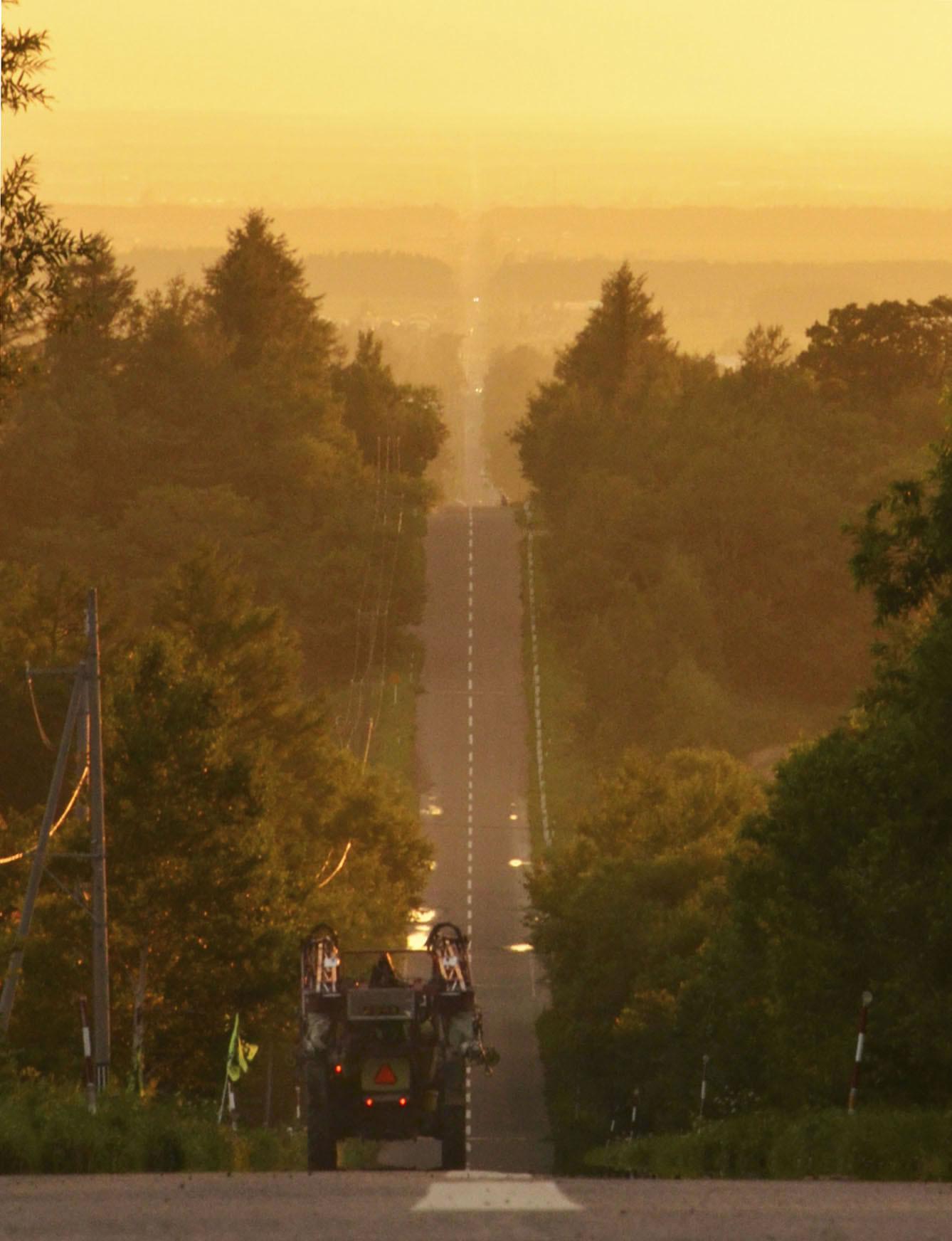 &nbsp'Estrada para o Céu' vira atração turística popular no norte do Japão