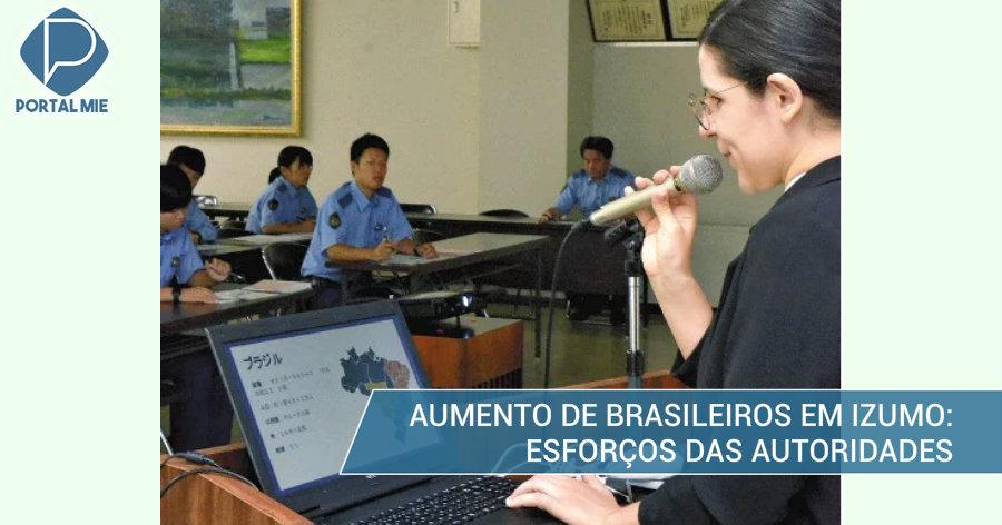 &nbspIzumo tem aumento de 41% de brasileiros