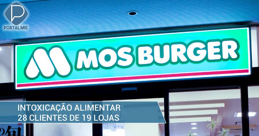 &nbspMos Burger: intoxicação alimentar em 28 pessoas de 8 províncias