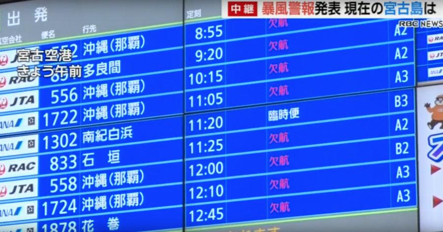 &nbspTufão n.º 24 deverá se aproximar de Tokai no domingo, pescadores se preparam