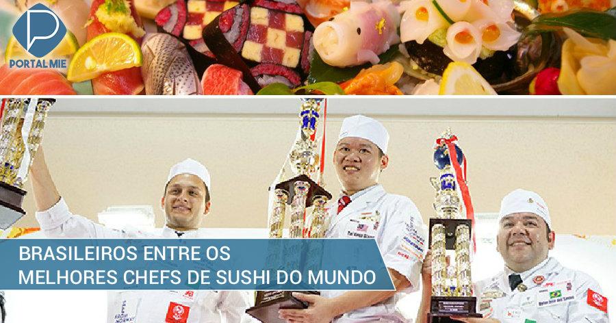 &nbspBrasileiros em destaque no World Sushi Cup 2018