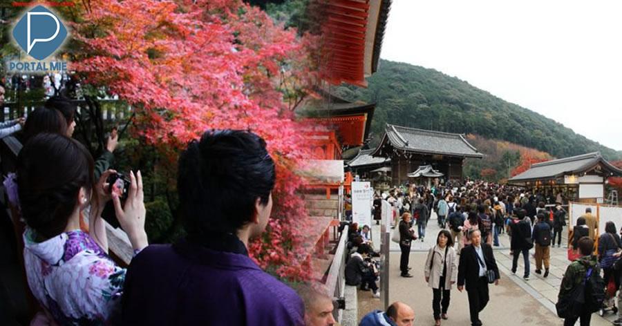 &nbspJaponeses reclamam de 'poluição do turismo' enquanto número de visitantes estrangeiros dispara