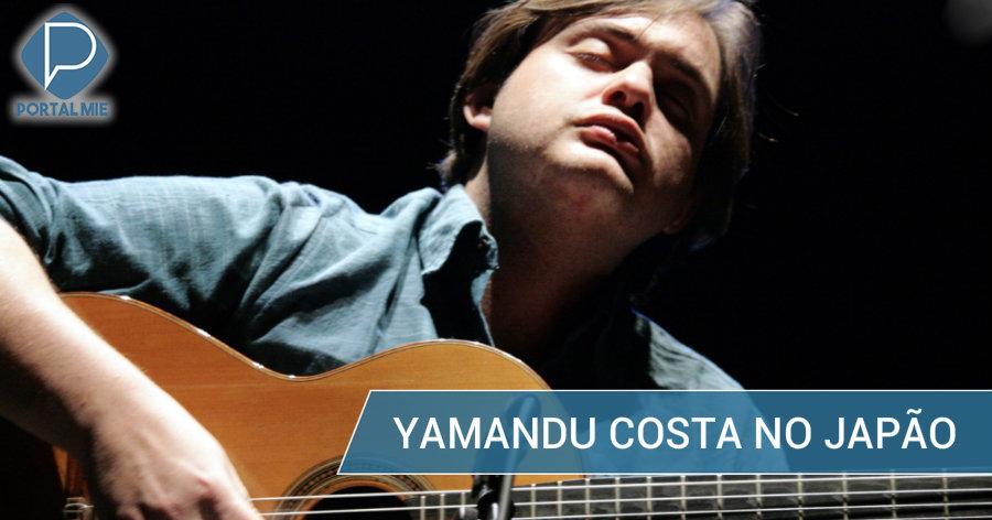 &nbspGênio do violão, Yamandu Costa, faz 5 apresentações no Japão