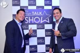 Jhony Sasaki e Augusto Aguiar entrevistados da noite
