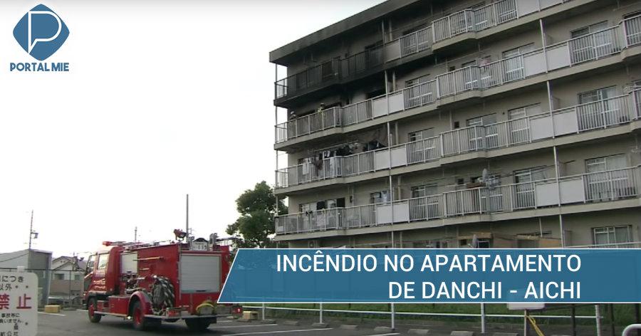 &nbspFogo acaba com apartamento de estrangeiros em 'danchi' de Aichi