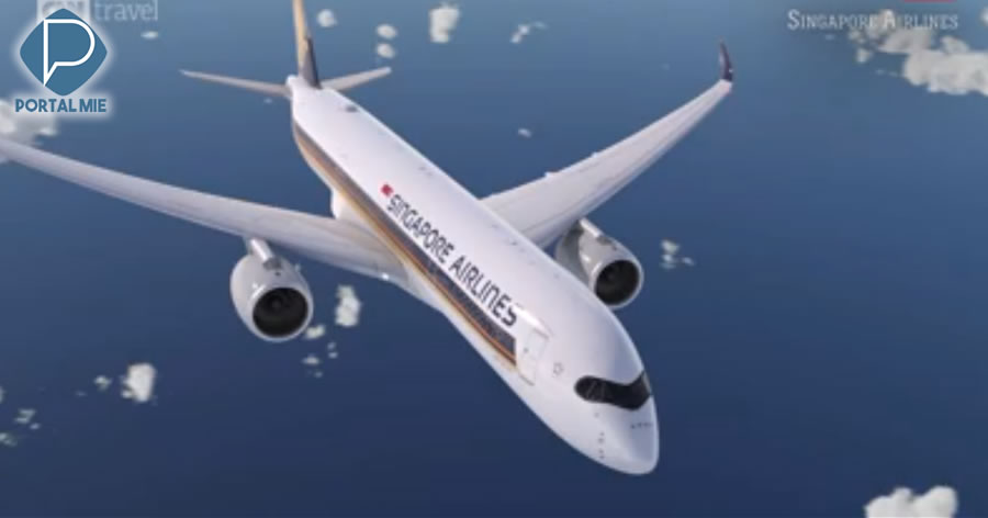 &nbspO voo sem escalas mais longo do mundo