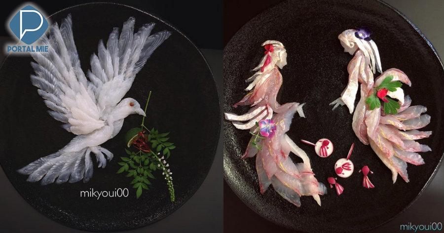 &nbspQuando os peixes se transformam em obras de arte