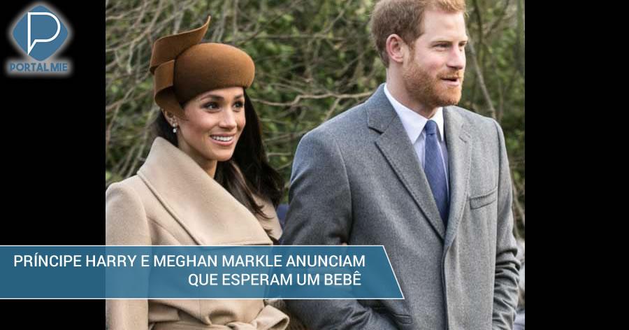 &nbspPríncipe Harry e Meghan Markle vão ser pais