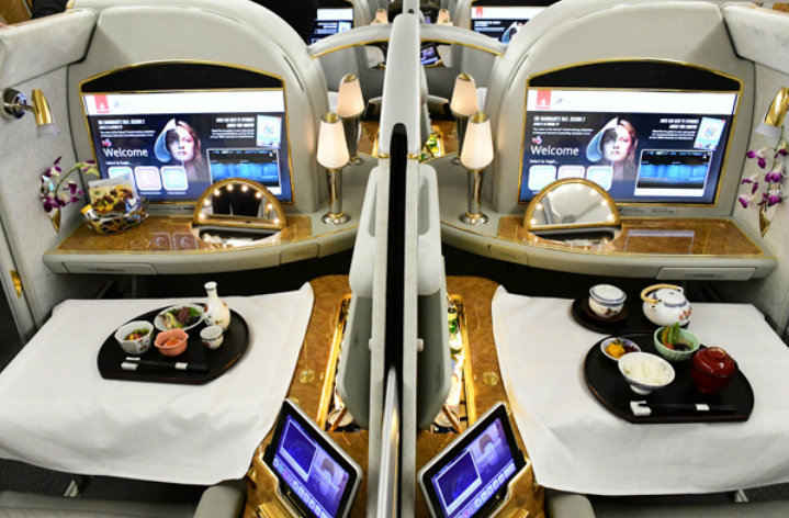 &nbspEmirates estreia Airbus no Aeroporto Internacional de Kansai