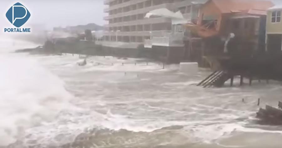&nbspFuracão Michael deixa rastros de destruição na Flórida, EUA