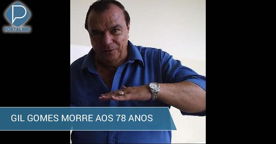 &nbspJornalista Gil Gomes morre aos 78 anos em São Paulo