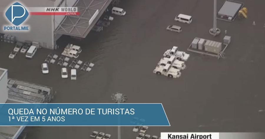 &nbspRecentes desastres naturais no Japão provocam queda no número de turistas estrangeiros