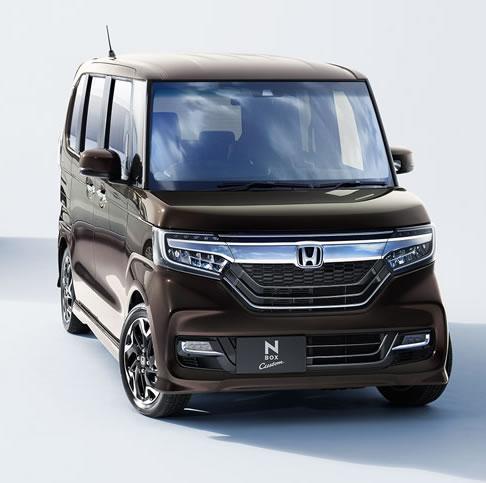 &nbspN-Box continua sendo o carro mais vendido no Japão