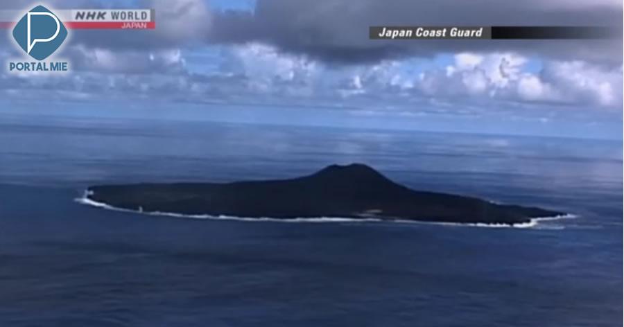 &nbspErupções em ilha remota expandem Zona Econômica Exclusiva do Japão