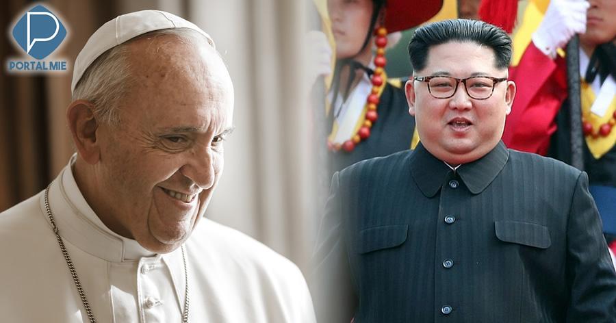 &nbspPapa Francisco demonstra vontade de visitar a Coreia do Norte