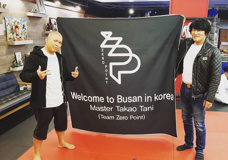 &nbspProfessor brasileiro de jiu-jitsu ministra seminário beneficente na Coreia do Sul