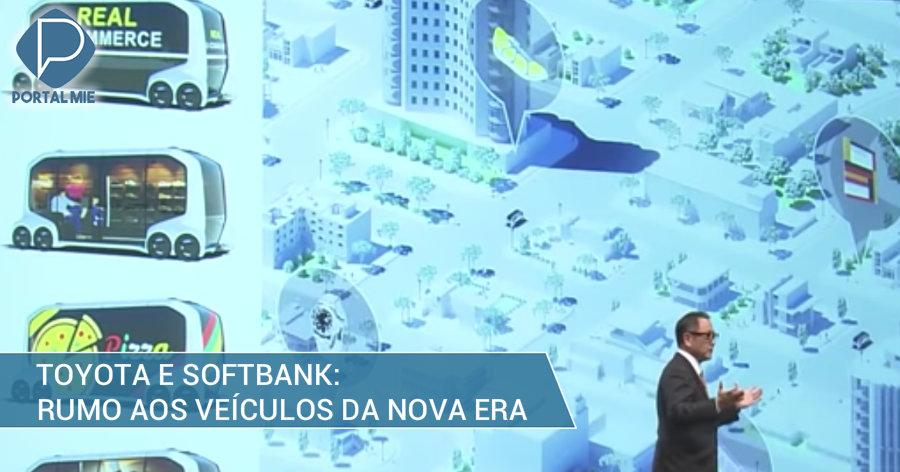 &nbspDuas gigantes se unem: Toyota e Softbank, rumo à mobilidade com tecnologia