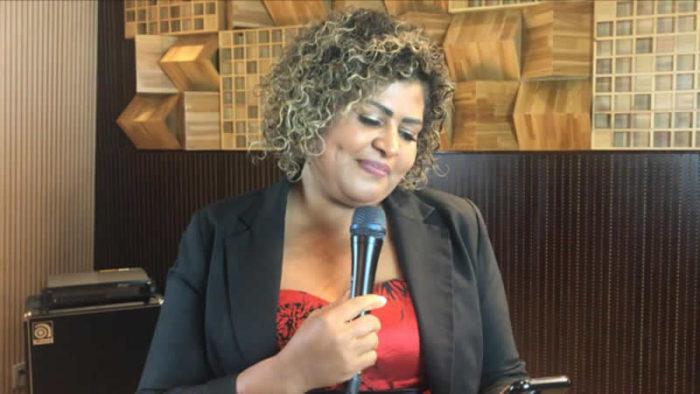 &nbspA cantora gospel Marcia Cassiano