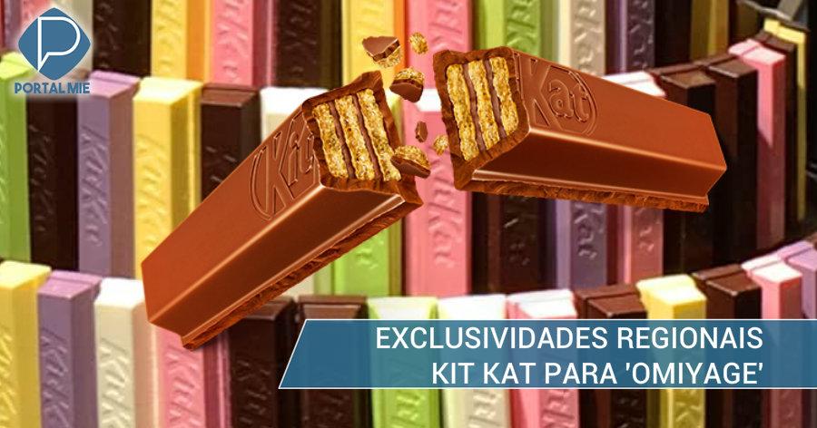&nbspKit Kat e seus 17 sabores exclusivos dos locais turísticos