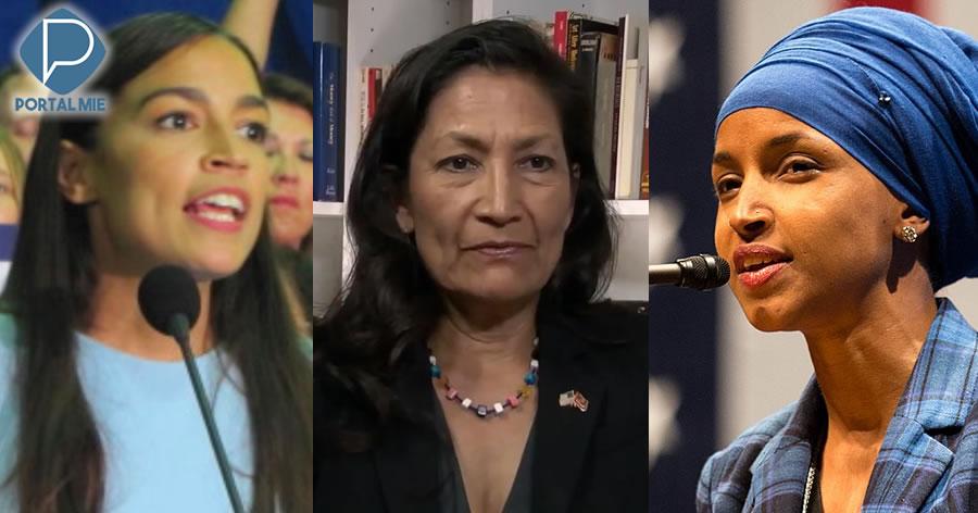 &nbspNúmero recorde de mulheres eleitas para o Congresso nos EUA