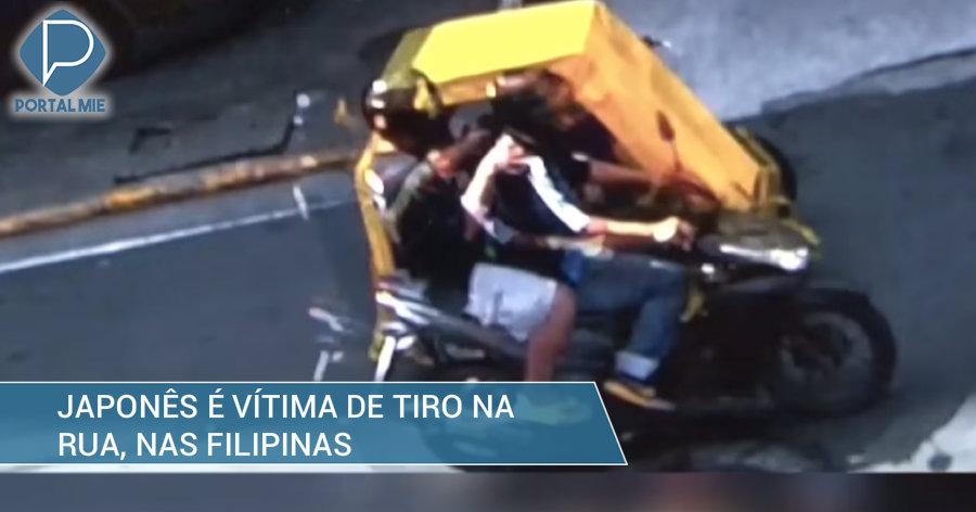 &nbspJaponês é baleado por motoqueiros nas Filipinas