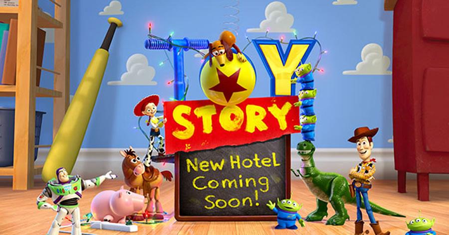 &nbspHotel do 'Toy Story' será construído no Tokyo Disney Resort