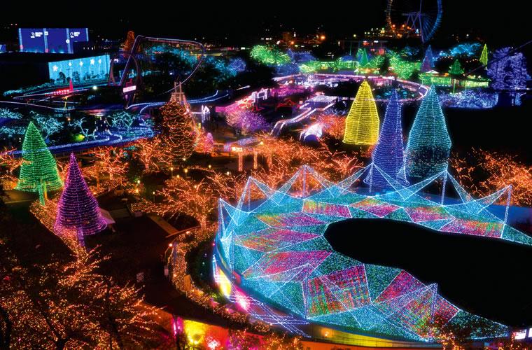 &nbspJewellumination, a incrível iluminação no parque Yomiuriland