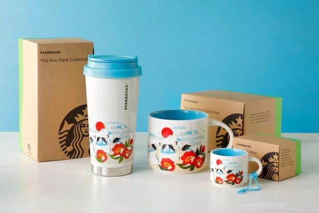 &nbspNova coleção 'You are Here' da Starbucks Japan