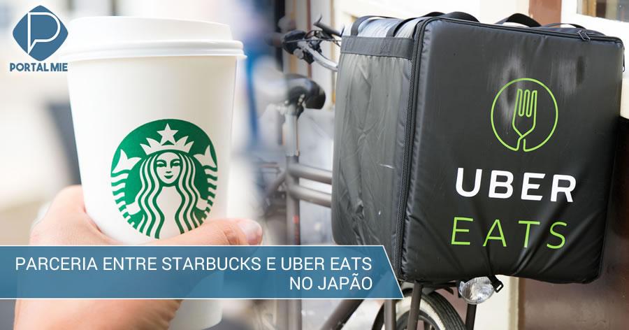 &nbspStarbucks faz parceria com a UberEats no Japão