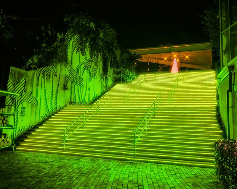 &nbspTrês milhões de lâmpadas na iluminação em Hamamatsu