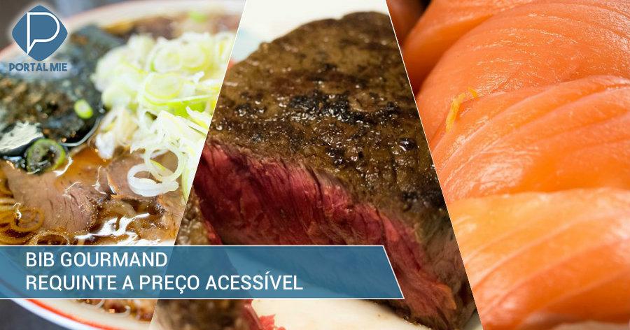 &nbspComo comer muito bem e barato no Japão: Bib Gourmand