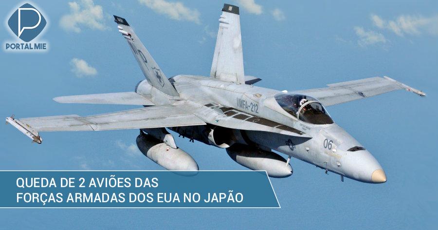&nbspDois aviões das forças armadas dos EUA caem no mar do Japão