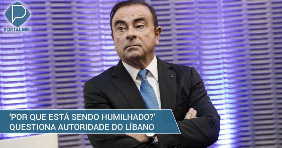 &nbspLíbano manda colchão a Carlos Ghosn e questiona a 'humilhação'
