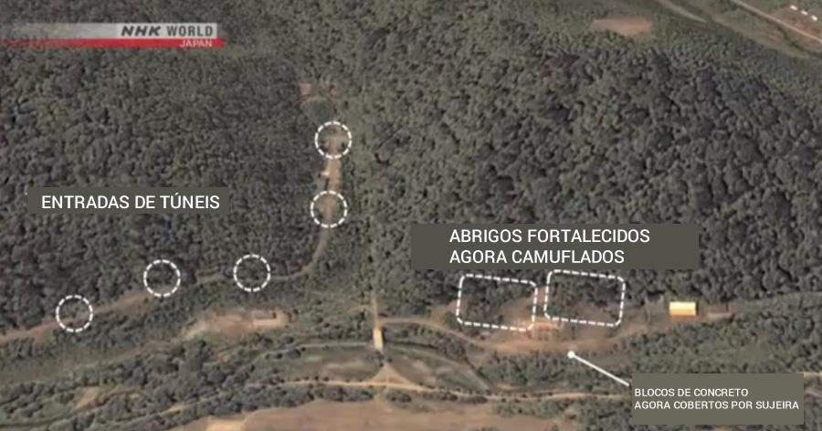 &nbspCoreia do Norte continua expandindo base de mísseis
