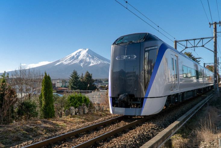 """&nbspJR estreará novo trem direto """"Fuji Excursion"""" de Tóquio até a área do Monte Fuji"""