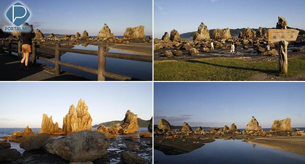 &nbspHashigui-iwa: os exuberantes Pilares de Rocha