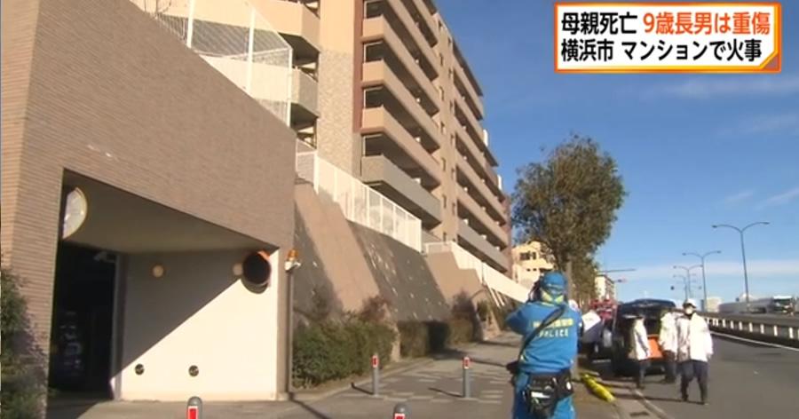 &nbspMulher morre em incêndio no apartamento; filho de 9 anos pula do 7º andar