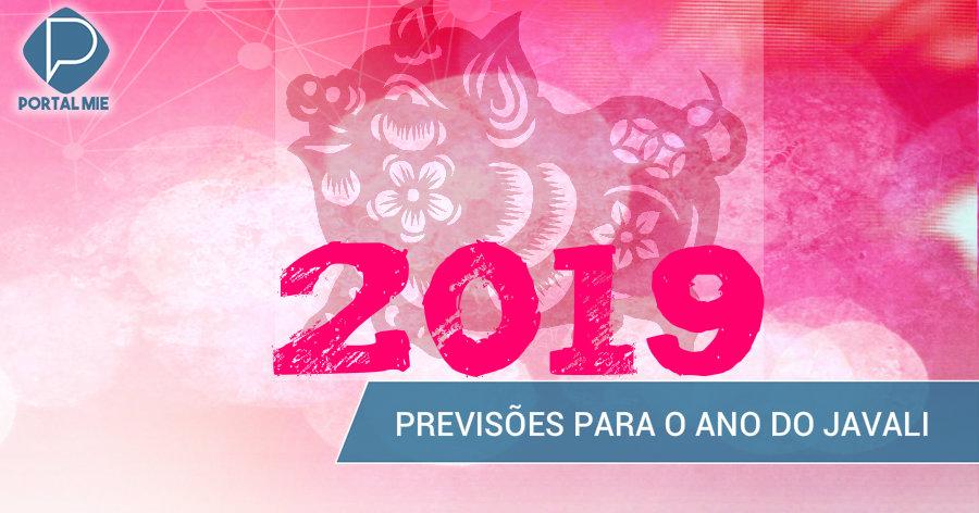 &nbspAno do Javali: o que esperar em 2019