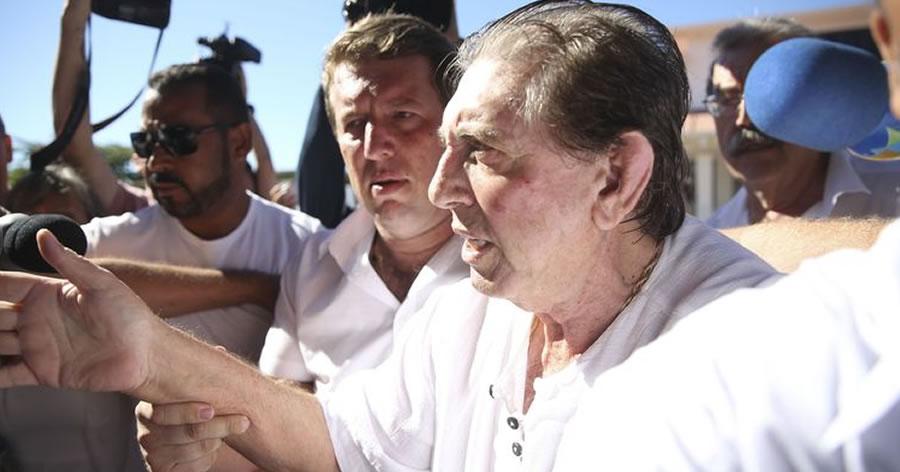 &nbspJoão de Deus se entrega à polícia em Goiás