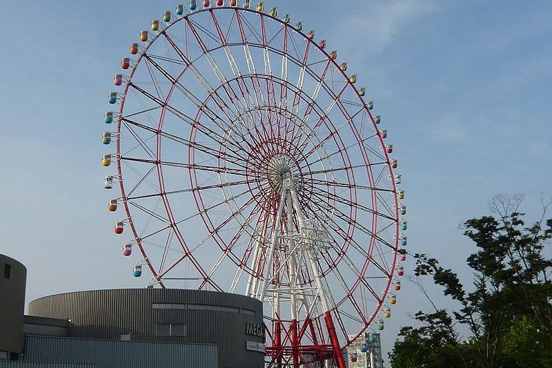 &nbspConheça algumas das incríveis rodas-gigantes do Japão