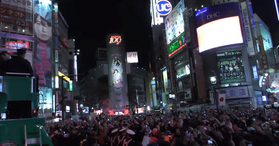 &nbspSegurança será rigorosa em Shibuya no Réveillon