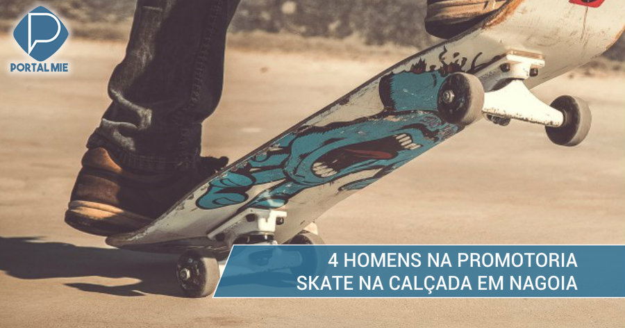 &nbsp4 indiciados, incluindo peruano, por correrem de skate no centro de Nagoia