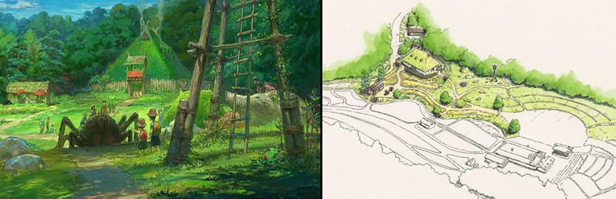 &nbspDetalhes do novo parque temático do Studio Ghlibi em Aichi