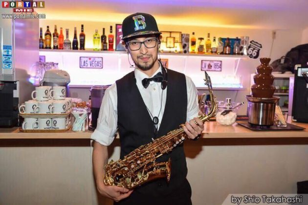 &nbspO saxofonista Cristiano Tiwata