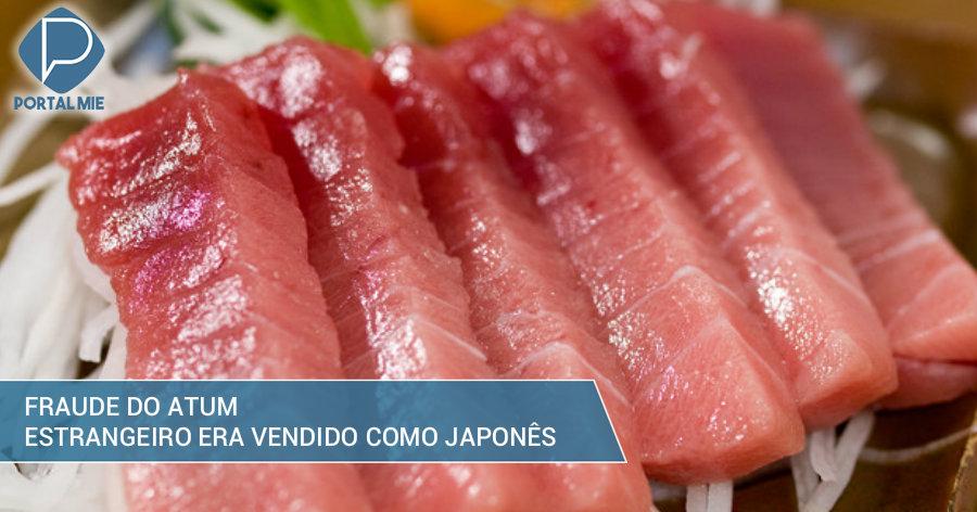 &nbspFalcatrua do atum: estrangeiro vendido como japonês