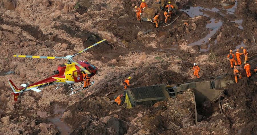 &nbspGoverno de Minas confirma 7 mortes após rompimento de barragem