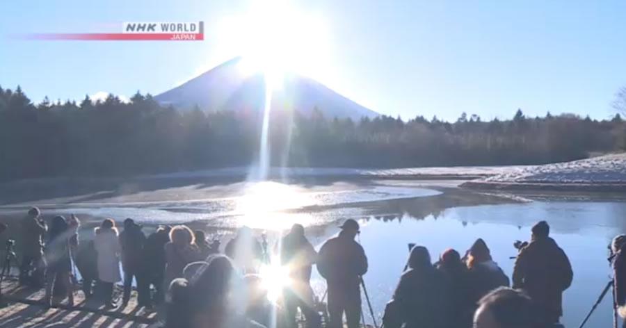 &nbspO fenômeno Diamond Fuji