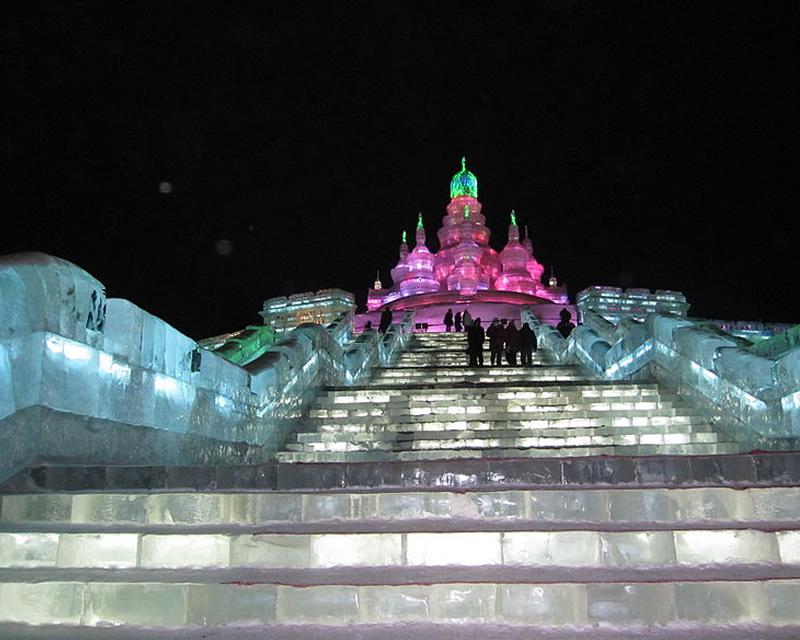 &nbspO maior festival de gelo e neve do mundo