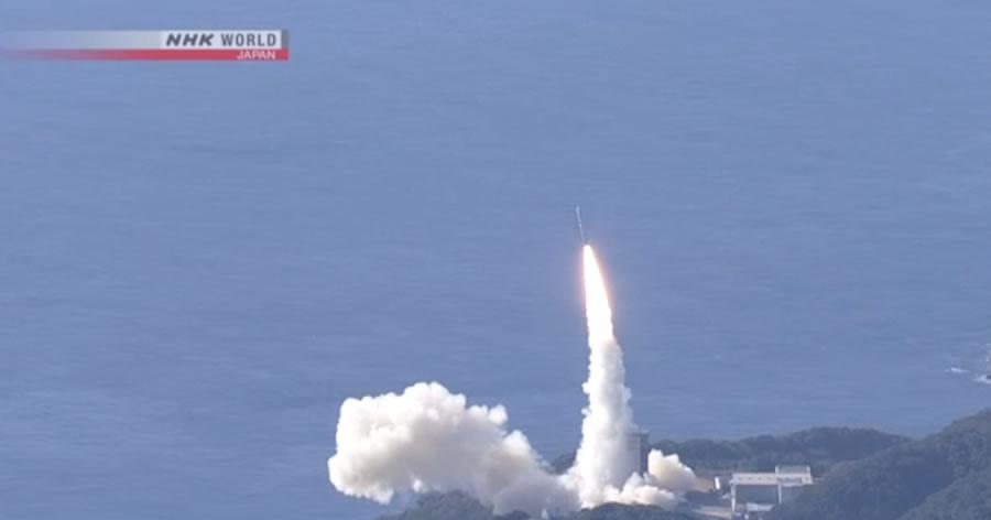 &nbspJapão lança foguete e coloca 7 satélites em órbita